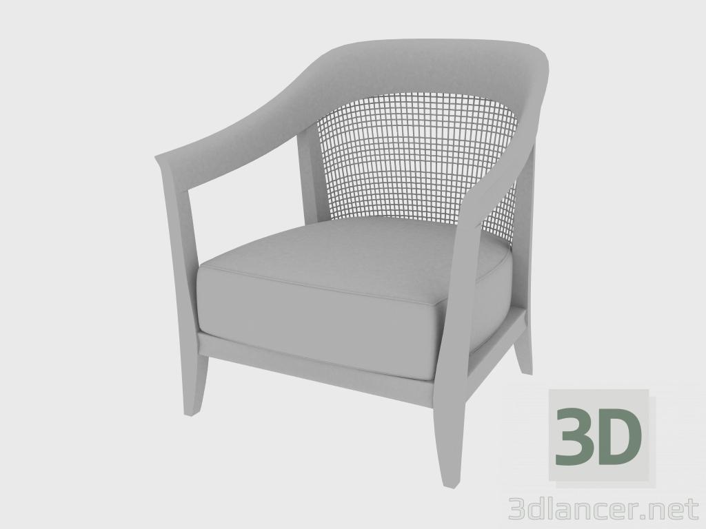 3 डी मॉडल आर्मचेयर कॉडी आर्मचेयर (75X72XH85) - पूर्वावलोकन