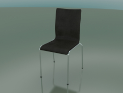 4-leg high back chair with leather upholstery (104)