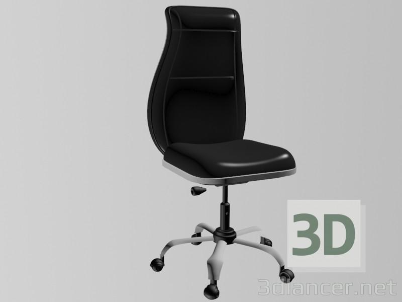 3d модель Комп'ютер стілець – превью
