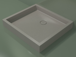Shower tray Alto (30UA0138, Clay C37, 100x90 cm)