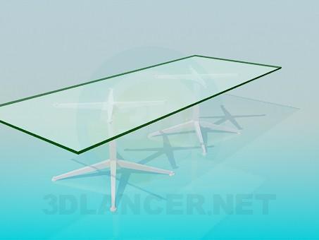 3d модель Конференц стол для офиса – превью