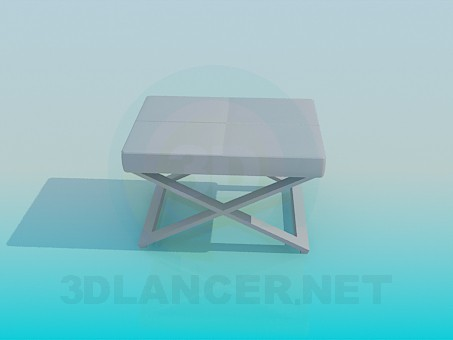 3d modeling Folding chair model free download