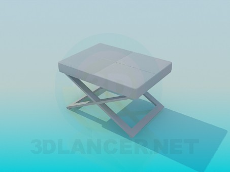 3d model Folding chair - preview