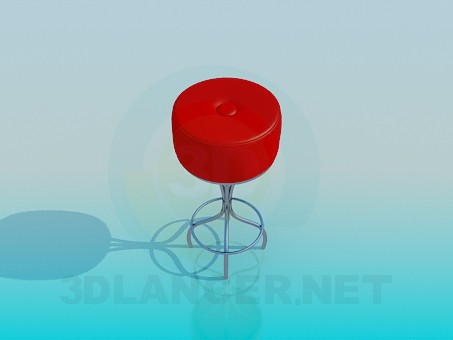 3d model Stool - preview