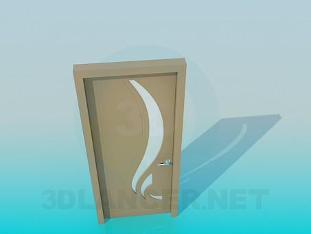 descarga gratuita de 3D modelado modelo Puerta interior