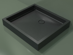 Shower tray Alto (30UA0138, Deep Nocturne C38, 100x90 cm)