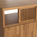 3d Oak Bar Table, Bilbao Color Oak La Redoute Interieurs model buy - render