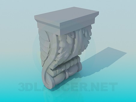 3d model Stucco decor - preview