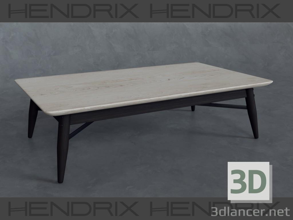 Mesa de centro de HENDRIX 3D modelo Compro - render