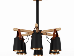 Modern Nordic Drop Down Pendant Chandelier 6