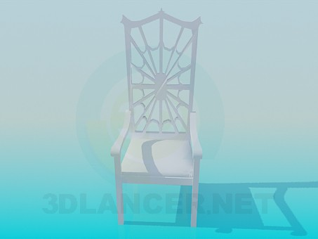 3d model Chair-web - preview