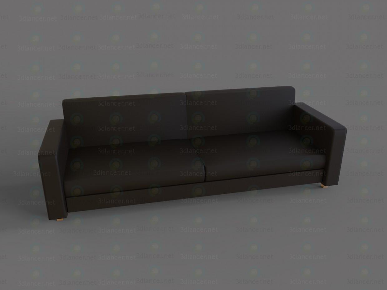 3d model Free sofa - preview