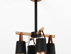 Modern Nordic Drop Down Pendant Chandelier 4