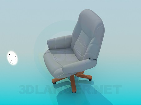 3d modeling Chair for manager model free download