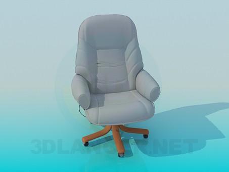 3d модель Крісло для керівника – превью
