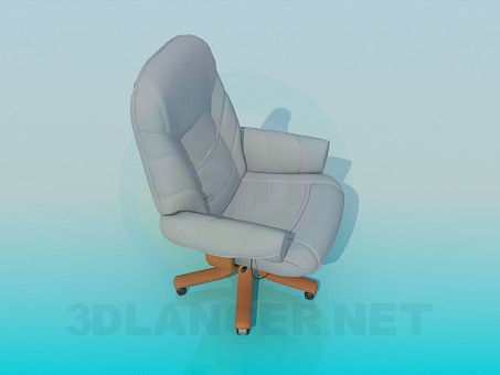 3d model Chair for manager - preview
