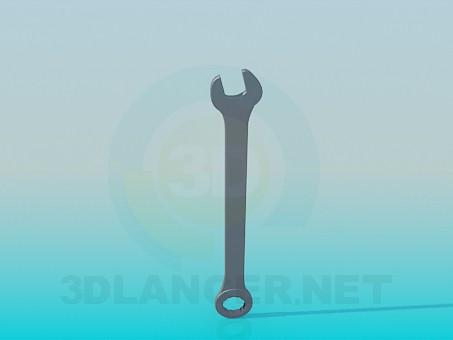 3d модель Ключ для гайки – превью
