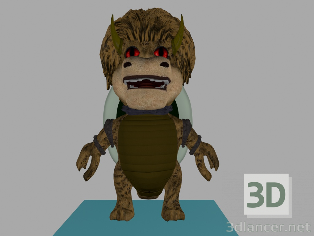 Dracon paid 3d model by is preview
