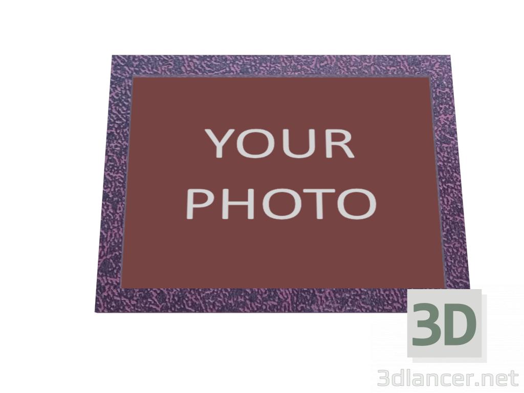 Fotorahmen 01 3D-Modell kaufen - Rendern