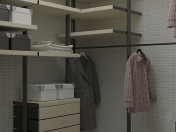 Modern Dressing room 1680x1870x2830 (h) mm
