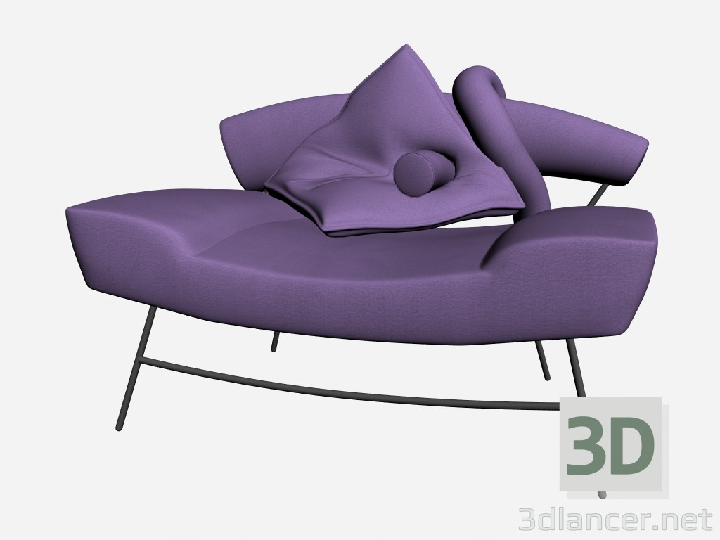 3d model Skyline Seat - preview