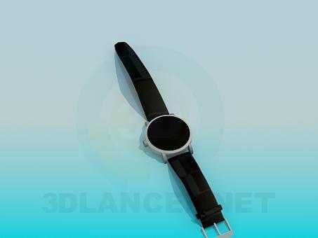 3d model Wristwatch - preview