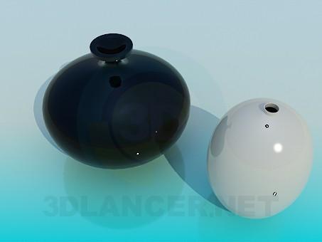 3d model Vases - preview