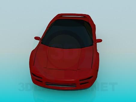 modelo 3D Acura NSX - escuchar