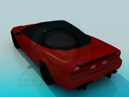 3d model Acura NSX - preview