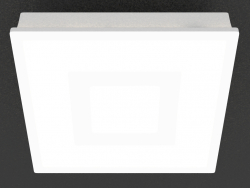 Recessed gypsum LED light (DL242GSQ)