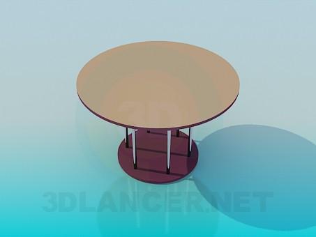 3d моделювання Чайний столик модель завантажити безкоштовно