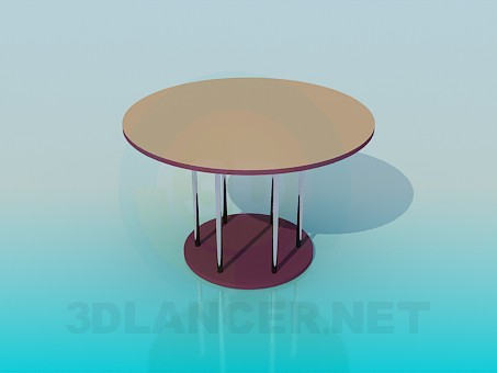 3d model Tea table - preview