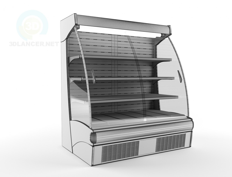 3d модель Витрина холодильная Oscartielle – превью