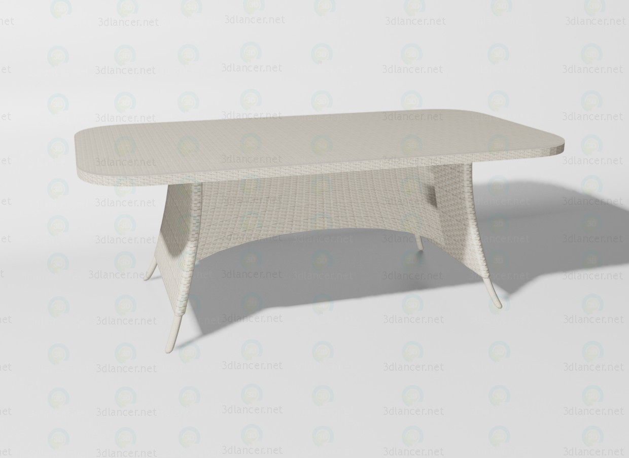 3d modeling Ocean desk model free download