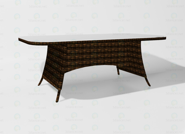 3d model Ocean desk - preview