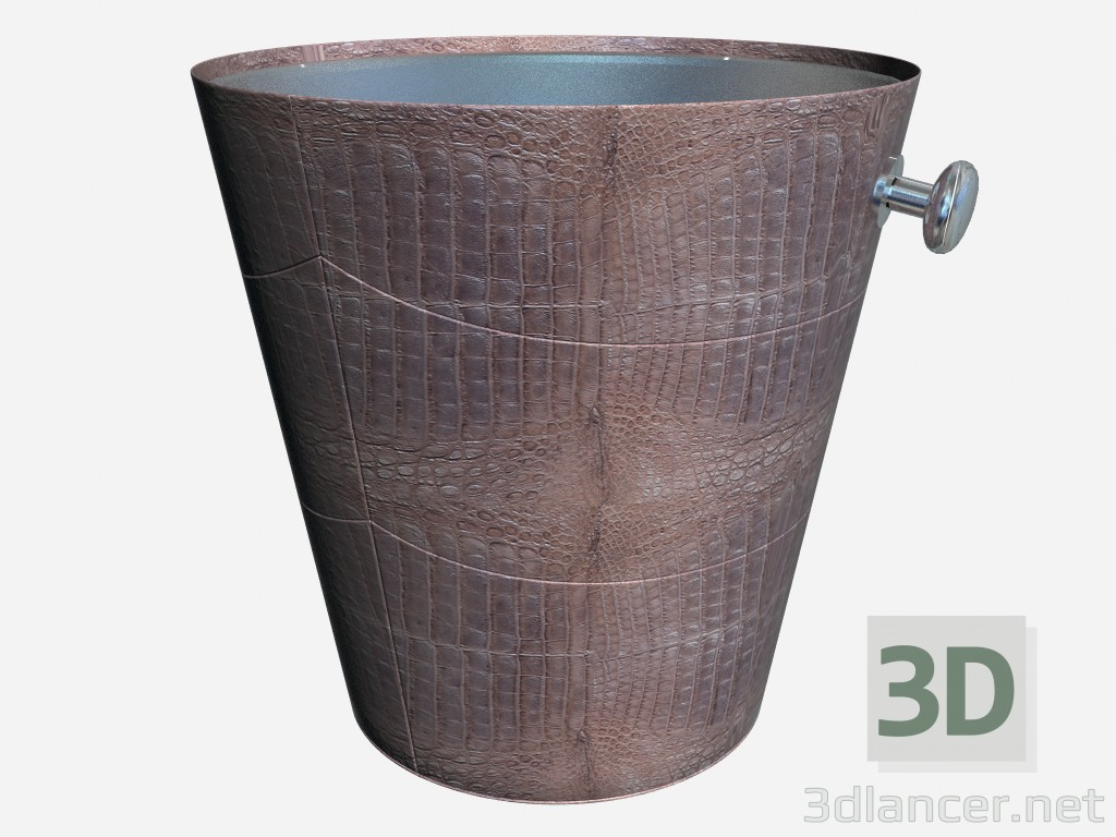 3d model Bucket for Champagne in art deco style - preview
