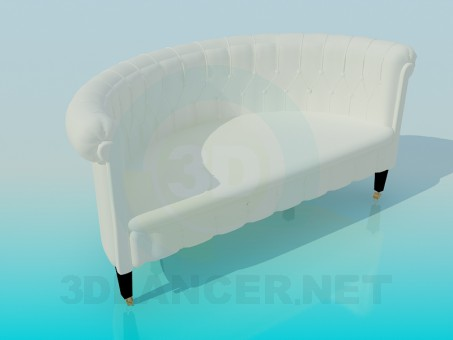 3d modeling Classic Sofa model free download