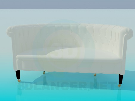 3d model Classic Sofa - preview