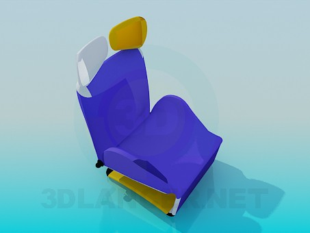 3d model Seat convertible - preview