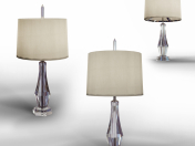 Faceted Crystal Table Lamp