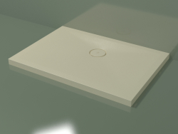 Shower tray (30UB0118, Bone C39, 100 X 70 cm)