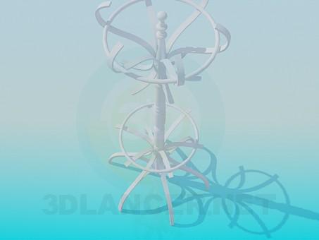 3d model Hanger on the stem - preview