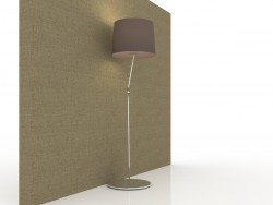 Floor lamp in a modern style 150x40sm