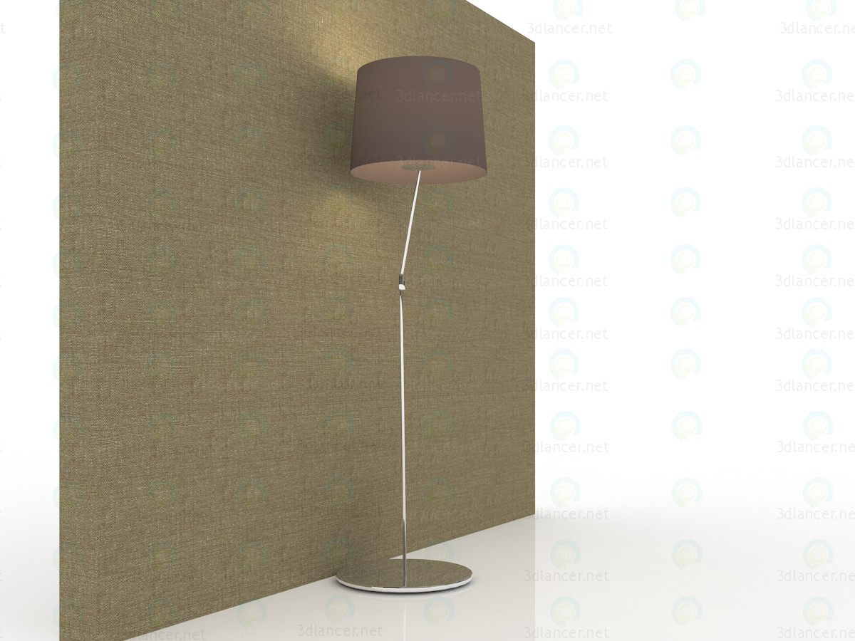 3d modeling Floor lamp in a modern style 150x40sm model free download