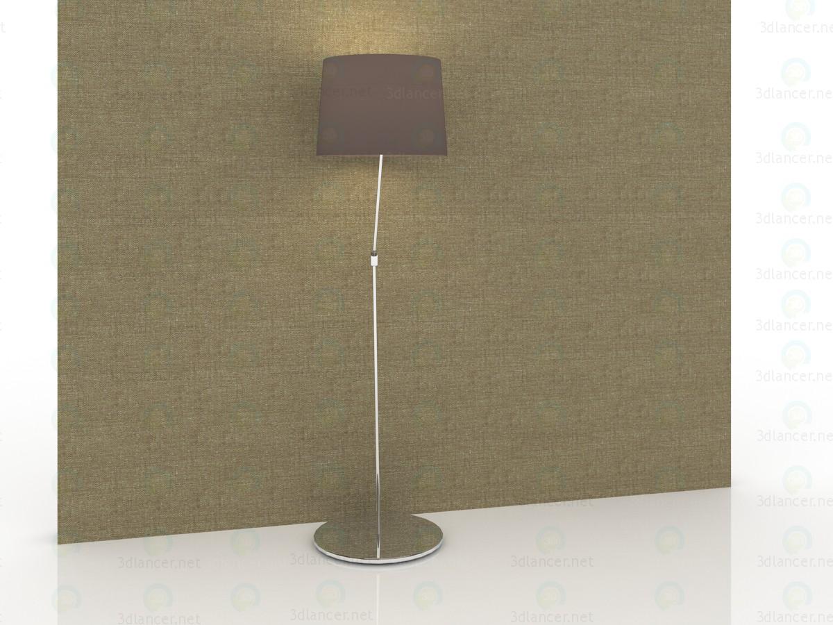 modelo 3D Lámpara de pie en un 150x40sm de estilo moderno - escuchar