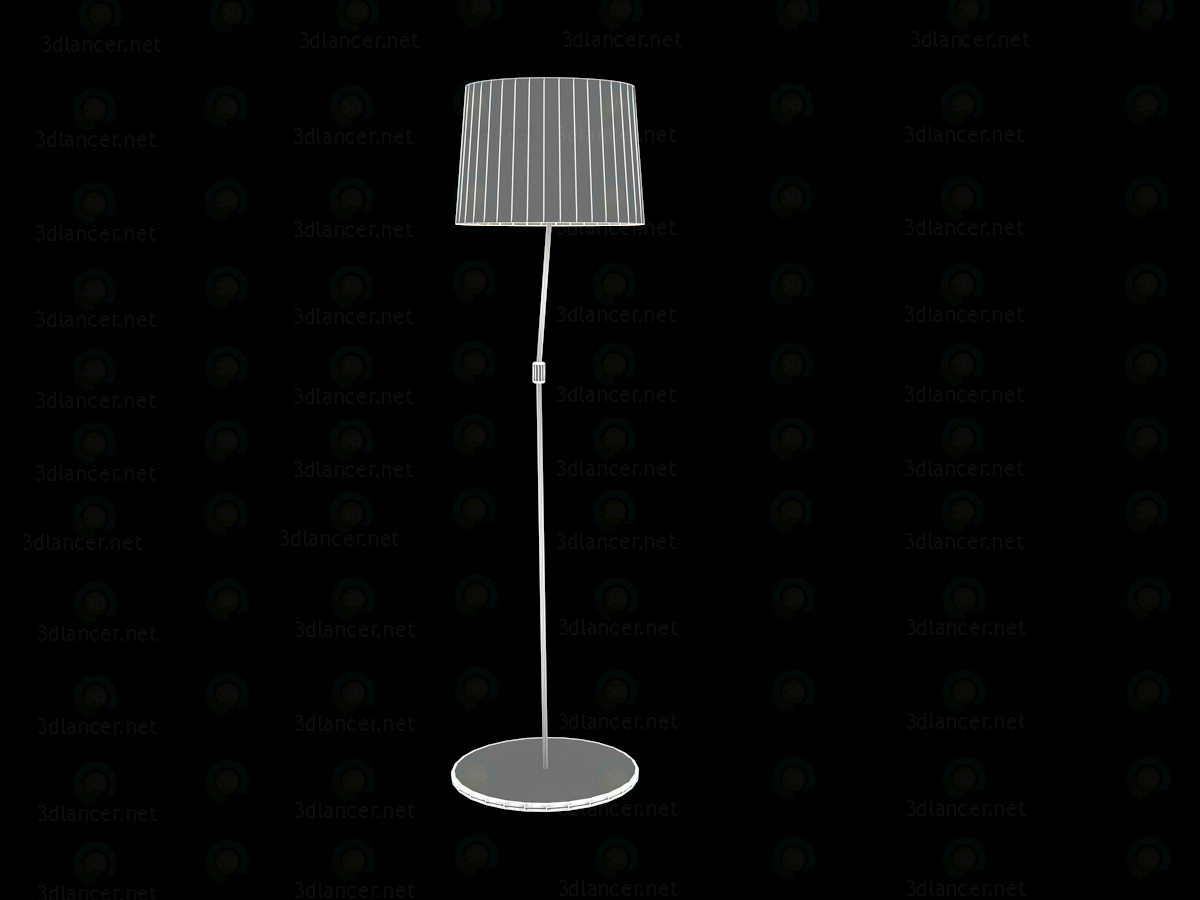 3d model Floor lamp in a modern style 150x40sm - preview