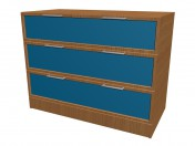 Chest of drawers 3 boxes K703