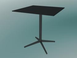 Tavolo MISTER X (9510-01 (70x70cm), H 73cm, nero, nero)