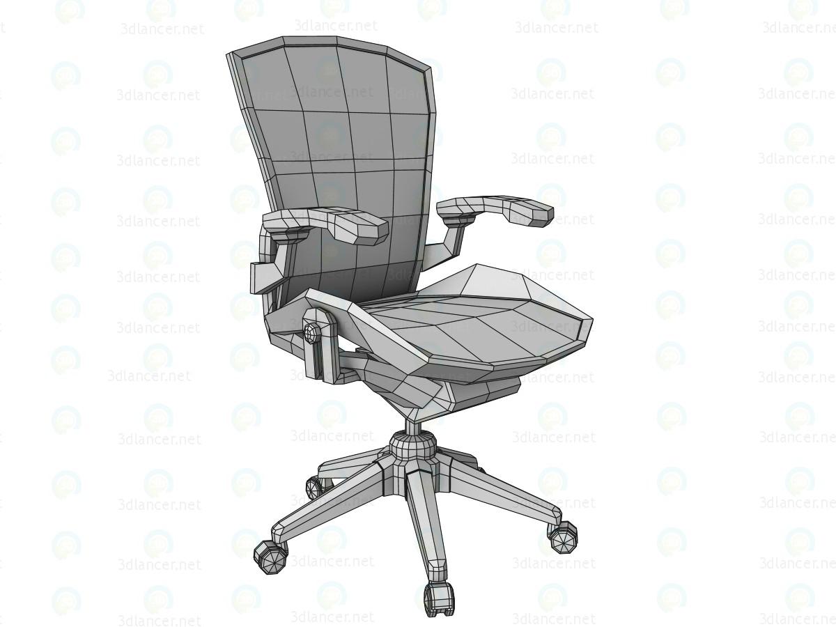 3d модель Стілець офісний – превью
