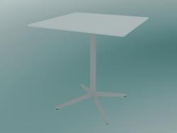Tavolo MISTER X (9510-01 (70x70cm), H 73cm, bianco, bianco)